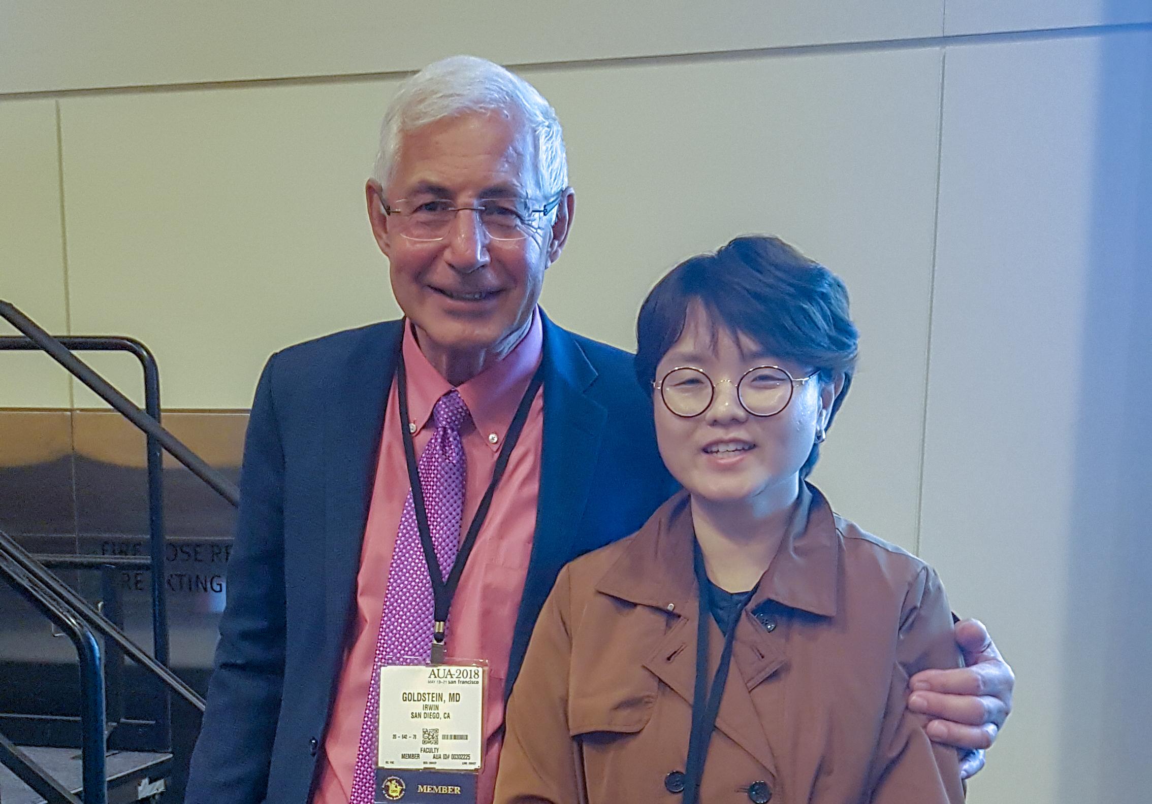 세계 비뇨기과 학회, San Francisco, 2018